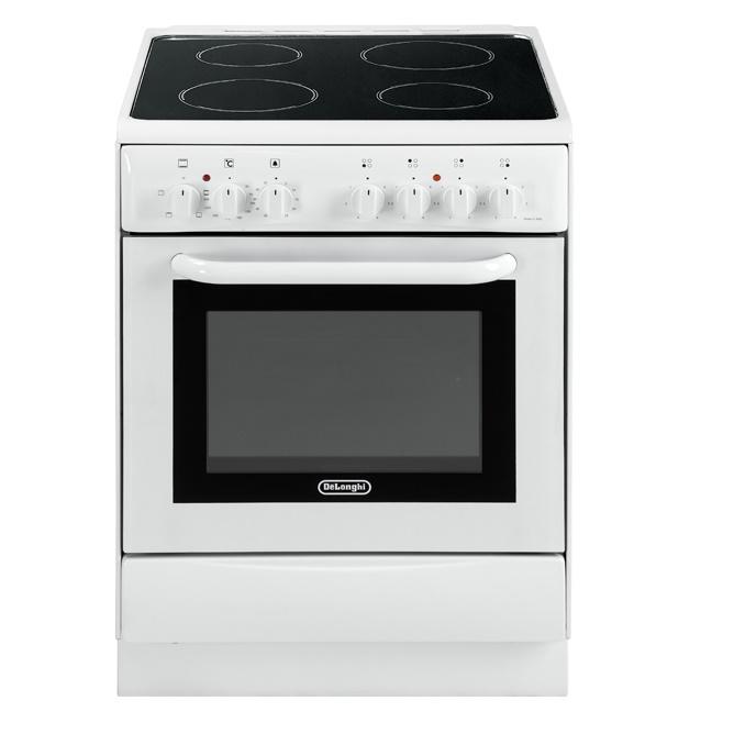 Leonardelli tecnologia e casa cucina delonghi dmw664v bianca - Cucina elettrica de longhi ...
