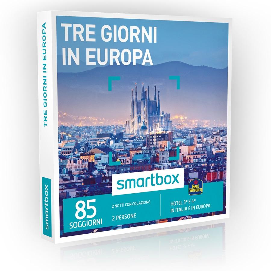 Leonardelli   Tecnologia e Casa - SMARTBOX TRE GIORNI IN EUROPA